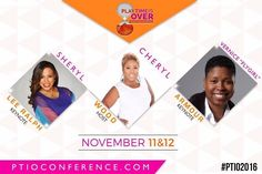 Can't wait to be in the same room with these great ladies this Friday and Saturday! Who else is joining me at the @ptioconference hosted by @cherylempowers?