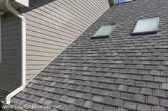 Gaf Timberline Roof In Weathered Wood With Monterey Taupe