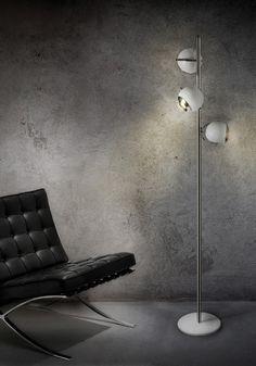 Scofield standing lamp by @Delightfull Unique Lamps http://www.delightfull.eu/en/heritage/floor/scofield-standing-lamp.php