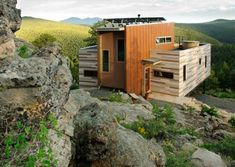 Prefab Shipping container homes in Nederland, Colorado | Modern Container Houses to Inspire
