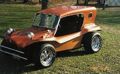 1962 Volkswagen Dune Buggy. I have seen one of these with the same top