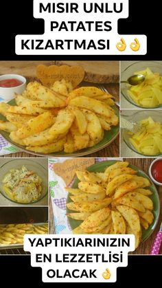 Baked Corn Floury Fries Recipe, How to Make It? – Chicken Recipes Baked Corn Floury Fries Recipe, How to Make It? Diet Recipes, Dessert Recipes, Cooking Recipes, Healthy Recipes, Baked Chicken Recipes, Potato Recipes, Turkish Recipes, Ethnic Recipes, Baked Corn