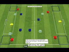 Vision and awareness SSG - ANIMATION 2 - YouTube Football Coaching Drills, Soccer Drills, Animation, Youtube, Kara, Sport, Games, Mini, Closet