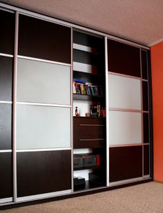 Шкаф купе ЛДСП Egger система направляющих RaumPlus