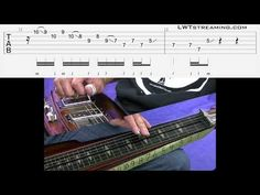 Quick Licks: Groovin' Blues - Open G Lap Steel Slide Guitar, Blues, Youtube, Youtubers, Youtube Movies
