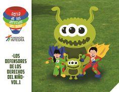 Cover comic Feria de los Derechos del Niño Ilustración