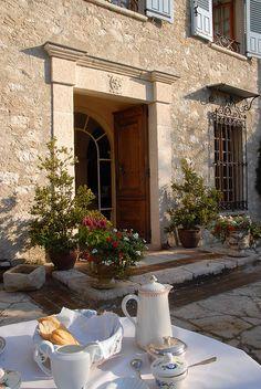 French breakfast, La-Colle-sur-Loup, France