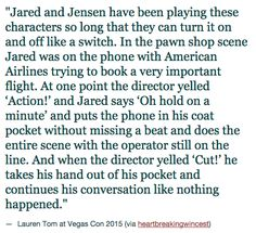 Haha. Not surprised.. Especially because it was American Airlines! We all know how much Jared loves them.. Lol!!