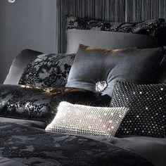 http://www.kylieminogueathome.com/home.php #LuxuryBeddingBlack