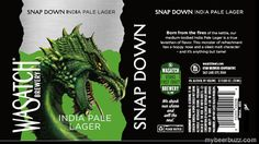 mybeerbuzz.com - Bringing Good Beers & Good People Together...: Wasatch - Snap Down India Pale Lager Hitting 12oz ...