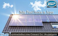 Definitely go for installing a solar panel system in Jaipur at your home with required capacity, if you are comfortable with the time period taken to pay back your investments. With the instant installation it would not generate money immediately but later it will for sure.Know More : http://bit.ly/2wZmZjS #SolarPanelSystemJaipur #SolarDealerJaipur