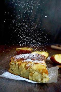Torta di mele Italian Desserts, Italian Recipes, Sweet Recipes, Cake Recipes, Healthy Cooking, Cooking Recipes, Confort Food, Ricotta, Torte Cake