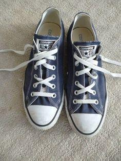2b5e480576ed9e Men s Blue Low Top Classic Converse All Stars (size