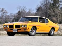 1970 Pontiac GTO Judge, to find one and fully restore it myself, probably never gonna happen but hey i can dream right :):):)