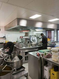 Restaurant La Brasserie - Kitchen Restaurants, Hotels, Kitchen, Table, Furniture, Home Decor, Kitchen Things, Cooking, Decoration Home