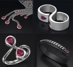 True Blood inspired jewelry / love it!