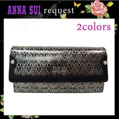 【楽天市場】アナスイ ANNA SUI 財布 さいふ ダニエラ かぶせ 長財布 全2色:Jos Brand Select Shop