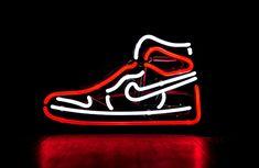 Sneakers Wallpaper, Shoes Wallpaper, Neon Wallpaper, Cartoon Wallpaper, Jordan Retro 1, Air Jordan Red, Jordan 1, Jordan Shoes, White Nike Basketball Shoes