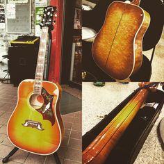 お客様の楽器を御紹介!  Gibson DOVE QUILT  www.musicshopbob.com  #楽器 #鹿嶋 #茨城 #bob_kashima #ボブ楽器店 #gibson #ギブソン #DOVE