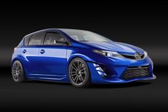 Scion, revealed the iM Concept that will be presented at the Los Angeles auto show. The car is essentially a tuned Toyota Auris with an aggressive body kit, new mirrors, 19 inch alloy wheels and matte silver and dark gray decorations.