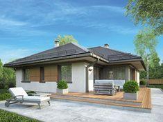 Wizualizacja Mój dom Winorośl CE Architecture, Gatsby, Patio, House Styles, Outdoor Decor, Home Decor, Fashion, Modern, Arquitetura
