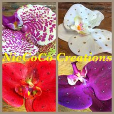 Shop for headpiece on Etsy, the place to express your creativity through the buying and selling of handmade and vintage goods. Orchids, Retro, Trending Outfits, Unique Jewelry, Handmade Gifts, Vintage, Kid Craft Gifts, Craft Gifts, Costume Jewelry