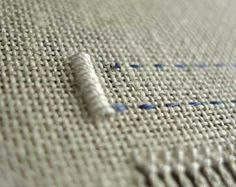 Finishing the Edge in Drawn Thread Embroidery