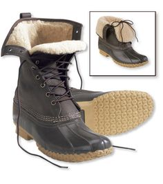 """WANT: L.L. Bean Boots 10"""" Shearling-Lined"""