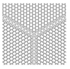 Triangle design graph paper  #Seed #Bead #Tutorials
