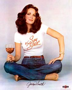 Photo of Jaclyn Smith for fans of Charlie's Angels 1976.