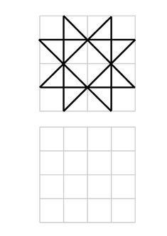 Adhd Activities, Preschool Activities At Home, Geometry Activities, Graph Paper Drawings, Graph Paper Art, Printable Puzzles For Kids, Worksheets For Kids, Visual Perception Activities, Paper Crafts Origami