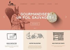 La Pierre Qui Tourne | CSS Website