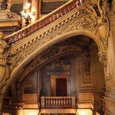 staircase opera house paris