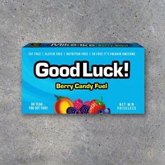 Wish your favorite athlete GOOD LUCK on their next game or competition with these fun printable candy fuel tags! Perfect for game day locker treats! Printable Instant Download by Studio 120 Underground, $5. Printable Tags, Printables, Mike And Ike, Good Luck Gifts, Are You The One, You Got This, Diy Games, Tag Design, Easy Gifts