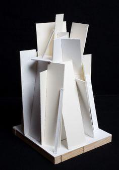 STACK sculpture model.