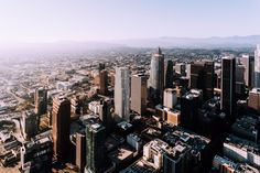 Los Angeles from a helicopter [2048x1365] [OC]. wallpaper/ background for iPad mini/ air/ 2 / pro/ laptop @dquocbuu