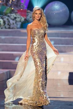 Nick Verreos: Beauty Pageant Minute--Best Pageant Gowns of LIST! Dinner Gowns, Evening Dresses, Miss Universe Gowns, Best Gowns, Pageant Dresses, Beautiful Gowns, Queen, Pretty Dresses, Strapless Dress Formal