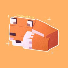 A little sleeping fox edit/drawing 🦊✨ - Minecraft Minecraft Comics, Minecraft Anime, Draw Minecraft, Minecraft Kunst, Minecraft Posters, Minecraft Drawings, Minecraft Pictures, Minecraft Fan Art, Cool Minecraft
