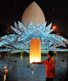 'loi krathong 2011' by apostrophy's in udonthani, thailand