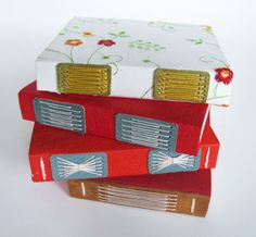 Small Exposed Stitch Journals from Big Jump Press