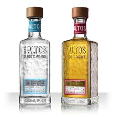 A new positioning for Pernod Ricard's premium tequila Olmeca Altos has been designed by Coley Porter Bell to help is operate as a stand-alone brand. Tequila Bottles, Alcohol Bottles, Liquor Bottles, Drink Bottles, Vodka Bottle, Beverage Packaging, Bottle Packaging, Grand Marnier, Wraps