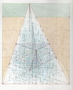 Minor Third Series: Fine Structure of Matter Study E May, 2008 8.5 in x 7 in Watercolor, ink, and graphite on rag paper