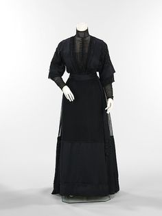 Mourning Dress  1912  The Metropolitan Museum of Art