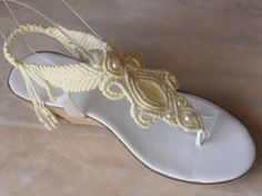 Handmade Wedding Shoes Wedding SandalsBoho Sandals Sandals