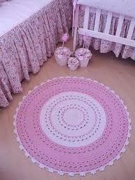 Resultado de imagen para como fazer tapete de croche infantil