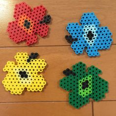 Marimekko magnets perler beads by Pink's shop Pearler Bead Patterns, Perler Patterns, Pearler Beads, Fuse Beads, Diy And Crafts, Crafts For Kids, Iron Beads, Perler Bead Art, Marimekko