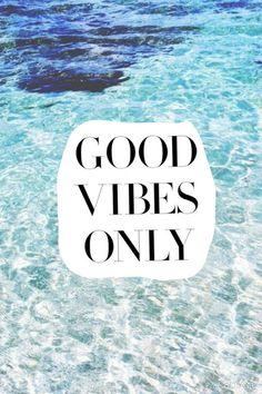 No bad vibes.