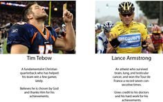 Lance Armstrong. Every time.