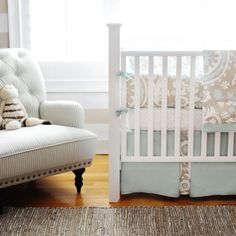 Blue Skies Baby Bedding from PoshTots