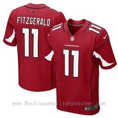 Acheter Maillot NFL Arizona Cardinals Fitzgerald #11 Rouge